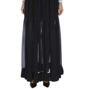 Pinko Black Long Skirt New